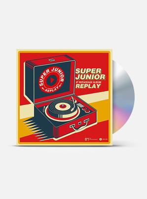 SUPER JUNIOR The 8th Album Repackage - REPLAY