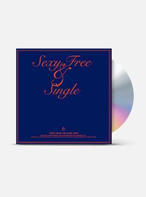 SUPER JUNIOR The 6th Album - Sexy, Free & Single (A Ver.)