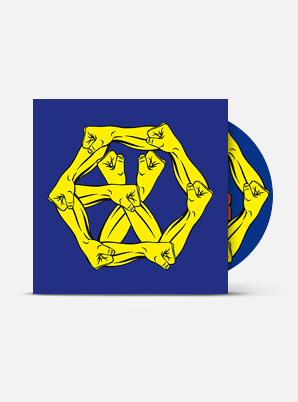 EXO The 4th Album Repackage - The War : The Power of Music (Kor Ver.)