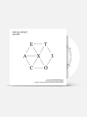 EXO The 3rd Album - EX'ACT (Kor Ver.)