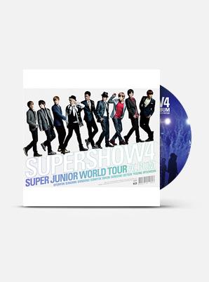 SUPER JUNIOR SUPER JUNIOR WORLD TOUR - SUPER SHOW 4
