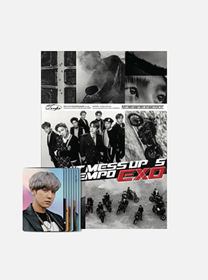 EXO STICKER BOOK SET - DON'T MESS UP MY TEMPO