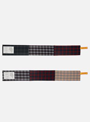 [STYLIST &P!CK] ADNA cotton check Muffler