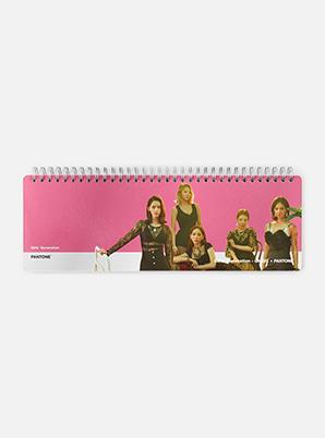 [PANTONE SALE] GIRLS' GENERATION-Oh!GG  SM ARTIST + PANTONE™ PHOTO WEEKLY PLANNER