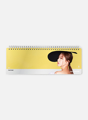 [PANTONE SALE] BoA  SM ARTIST + PANTONE™ PHOTO WEEKLY PLANNER