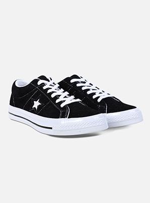 [SEULGI &P!CK] Converse One Star Premium Suede Black