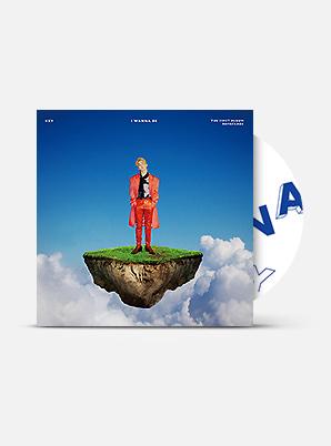 KEY The 1st Album Repackage - I Wanna Be