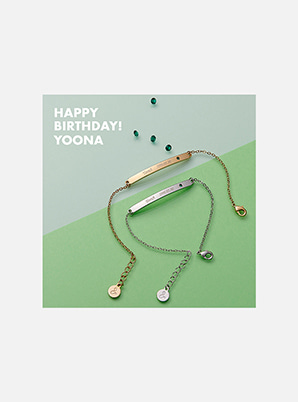 YOONA ARTIST BIRTHDAY BRACELET6/14 이후 순차 배송됩니다.