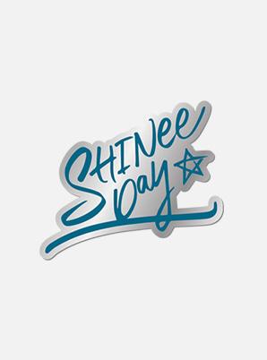 SHINee DEBUT 11th ANNIVERSARY EXHIBITION BADGE