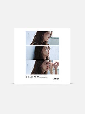 YOONA Special Album 'A Walk to Remember' (Kihno Kit)