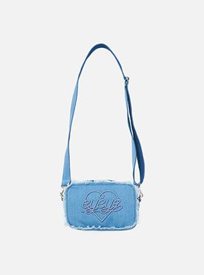 [STYLIST &P!CK] EYEYE DENIM COMBINATION POUCH BAG_BLUE