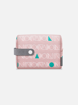 SHINee TYPOGRAPHIC TRAVEL POUCH with ALIFE
