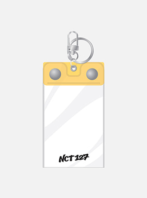 NCT 127 WE ARE SUPER HUMAN PHOTO KEYRING & PHOTO CARD SET