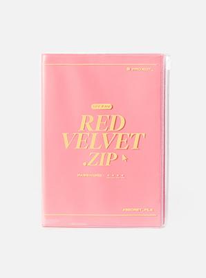 Red Velvet ZIPPER NOTE