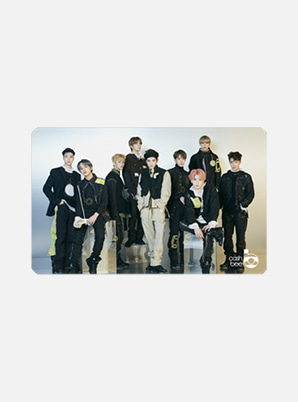 NCT 127TRANSPORTATION CARD - NCT #127 WE ARE SUPERHUMAN