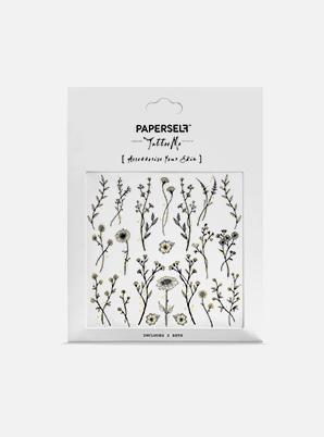 [MD &P!CK] PAPERSELF Wildflower TATTOO STICKER
