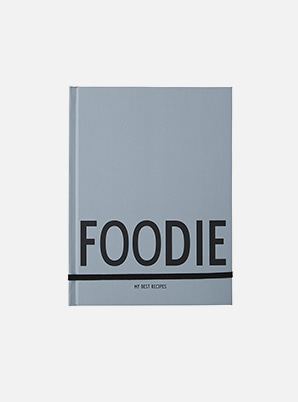 [MD &P!CK] DESIGN LETTERS Foodie Book