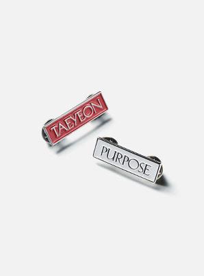 TAEYEON BADGE - Purpose