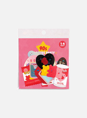 Be on :D 90S COOLKIDS PARTY STICKER PACK