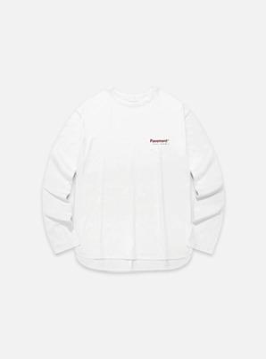 [STYLIST &P!CK] Pavement LINE LONG SLEEVE IA - WHITE