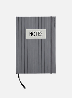 [MD &P!CK] DESIGN LETTERS Classic Notebook