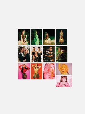 Red Velvet POSTCARD BOOK - 'The ReVe Festival' Finale