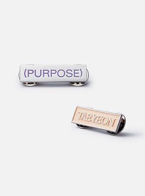 TAEYEON BADGE - Purpose Repackage