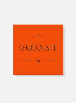 MAX CHANGMIN The 1st Mini Album - Chocolate (Kit Ver.)