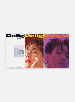 BAEKHYUN The 2nd Mini Album - Delight(Random cover ver.)