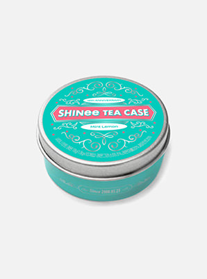 SHINee 12th ANNIVERSARY TEA CASE