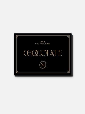 MAX CHANGMIN POSTCARD BOOK - Chocolate