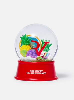 Red Velvet 6th ANNIVERSARY GLITTER WATER BALL