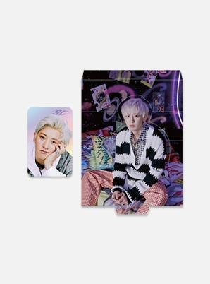 EXO-SC HOLOGRAM PHOTO CARD SET - 10억뷰