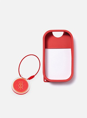 TOUCH LAND POWER MIST SHIELD_RED + ARTIST TOUCH KEYRING