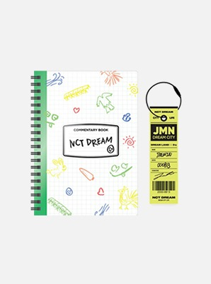 NCT DREAM COMMENTARY BOOK + LUGGAGE TAG SET - NCT LIFE: DREAM in Wonderland