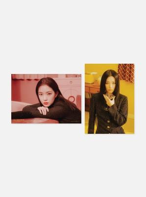 Red Velvet - IRENE & SEULGI A4 PHOTO - Monster