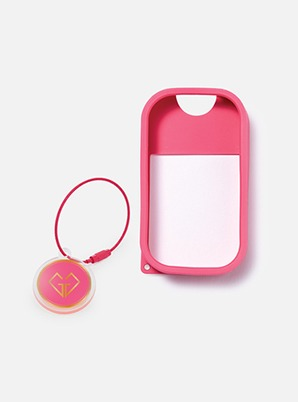 TOUCH LAND POWER MIST SHIELD_PINK + ARTIST TOUCH KEYRING