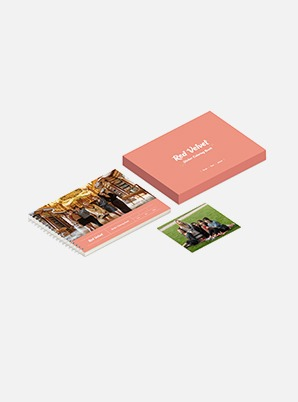 Red Velvet STICKER COLORING BOOK
