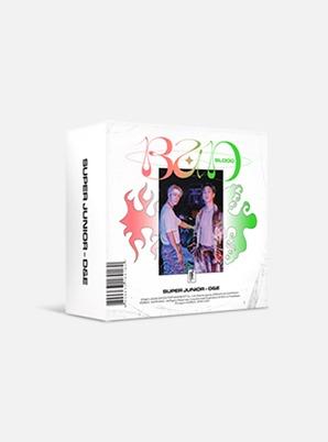 SUPER JUNIOR-D&E The 4th Mini Album - BAD BLOOD (Kit Ver.)