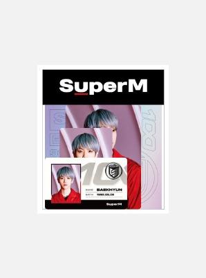 SuperM ID CARD + DECO STICKER SET - 100