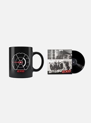 Home Cafe EXO COLOR CHANGE MUG + LP COASTER SET