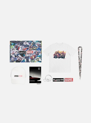 SuperM SuperM x MARVEL SPECIAL PACKAGE 2(L size)