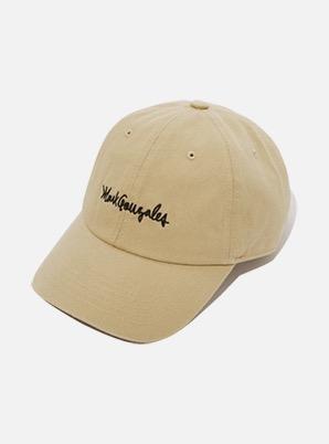 MARK GONZALES BALL CAP BEIGE