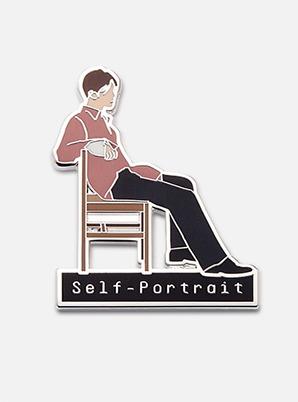 SUHO DIY PIN - 자화상 (Self-Portrait)