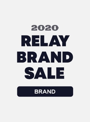 [RELAY BRAND SALE] BRAND 1st WEEK SPECIAL PRICE - 9,900