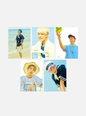 NCT DREAM A4 PHOTO - We Young