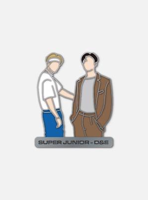 SUPER JUNIOR-D&E DIY PIN - BAD BLOOD