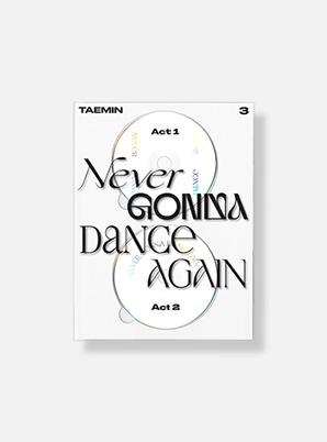 TAEMIN The 3rd Album - 'Never Gonna Dance Again' (Extended Ver.)
