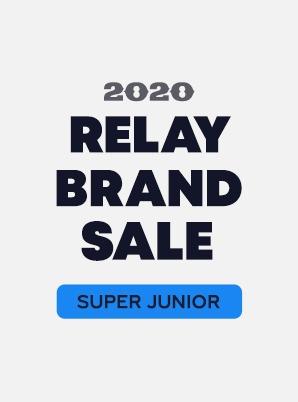 [RELAY BRAND SALE] SUPER JUNIOR 3rd WEEK SPECIAL PRICE - 9,900