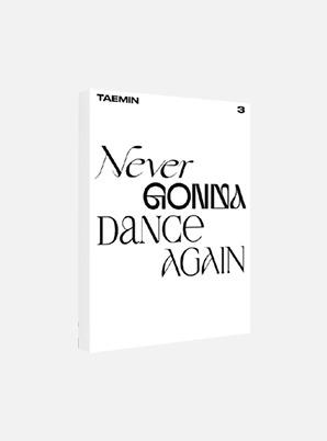 TAEMIN POSTCARD BOOK - Never Gonna Dance Again : ACT 2
